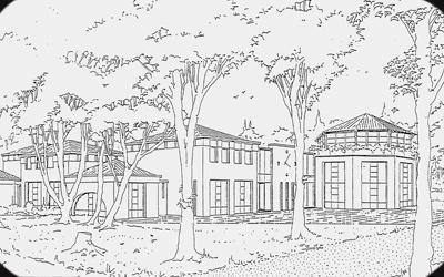 construction centre aéré et école